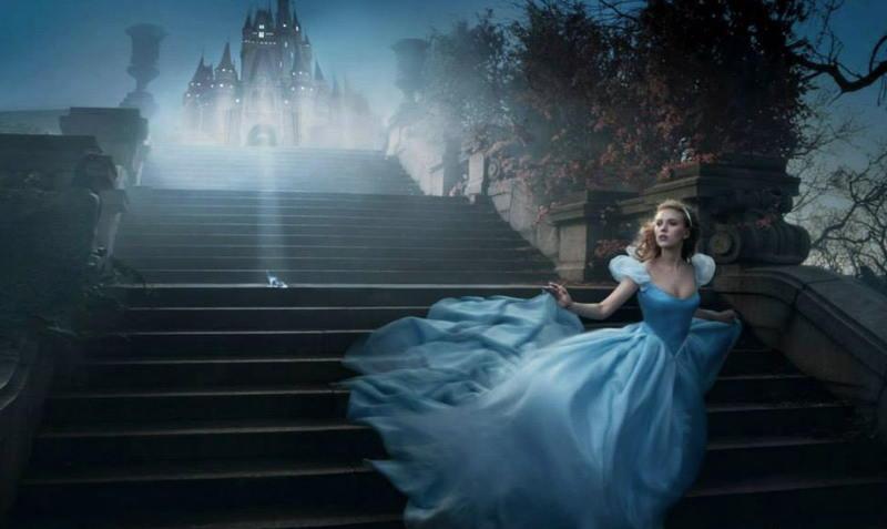 Scarlett Johansson as Cinderella