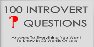 100 Introvert Questions - free ebook