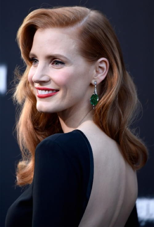 Jessica Chastain - Interstellar premiere