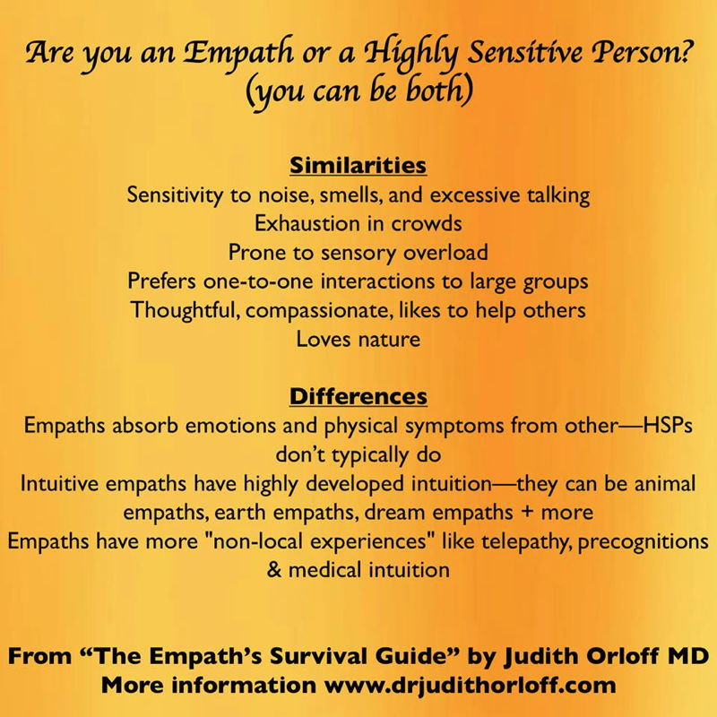 Judith Orloff - Thriving as a Highly Sensitive Person or Empath