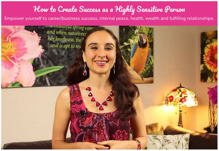 Free Webinar: How to Create Success as a Highly Sensitive Person