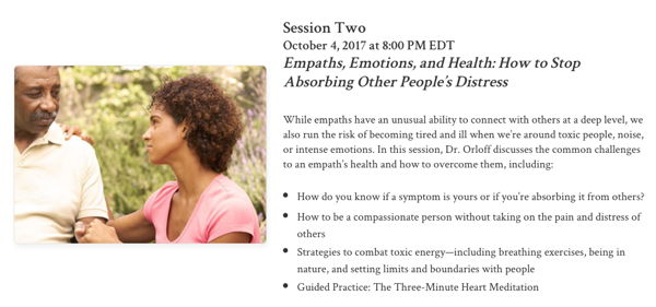 Empath's Survival Guide Online Course: Life Strategies for Sensitive People
