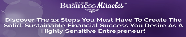 Free webinar for Highly Sensitive Entrepreneurs by Heather Dominick