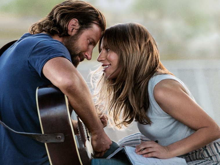 Bradley Cooper, Lady Gaga in A Star Is Born 2018